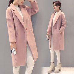 ESODO - 純色針織大衣