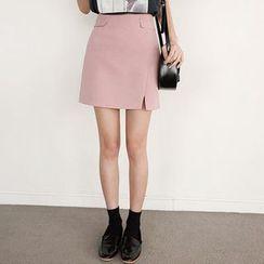 Seoul Fashion - A-Line Miniskirt