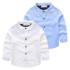 JAKids - 小童純色襯衣
