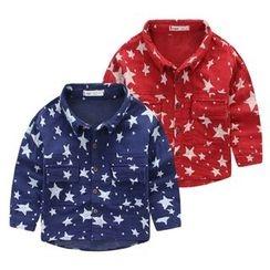 JAKids - 小童星星印花襯衣