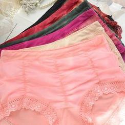 QIANLEE - Lace-Trim Panties