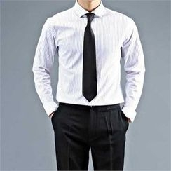 THE COVER - Pinstriped Cotton Shirt