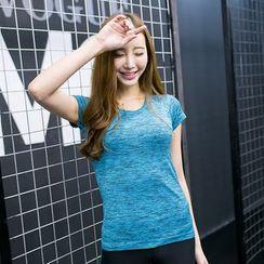 PUDDIN - Sports Quick Dry Short-Sleeve T-shirt