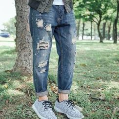SeventyAge - Distressed Jeans