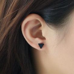 晴雯 - 三角耳環