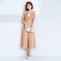 Tokyo Fashion - Buckled Jumpsuit