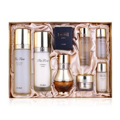 O HUI - The First Cell Revolution Set B : Skin Softener 150ml + 20ml + Emulsion 120ml + 20ml + Ampoule 18ml + Eye Cream 5ml + Cell Source 22ml + Geniture 11ml