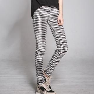 LULUS - Patterned Skinny Pants