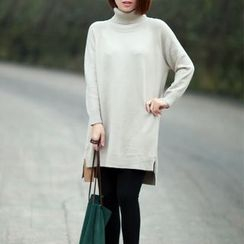 Ranche - Turtleneck Long Sweater