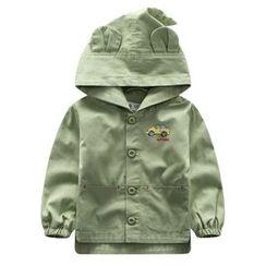 Endymion - Kids Car Print Hooded Jacket