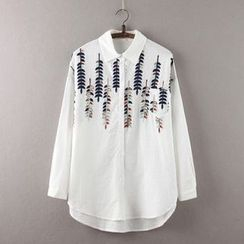 Rosadame - Embroidered Shirt