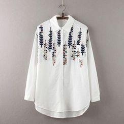 Rosadame - 刺繡襯衫