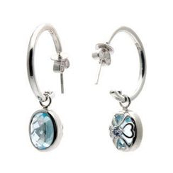 Bellini - Blue Topaz Versatile Earrings