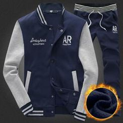 Alvicio - Set: Snap-Button Jacket + Sweatpants