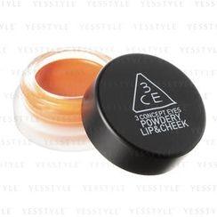 3 CONCEPT EYES - Powdery Lip & Cheek (Tibet Orange)