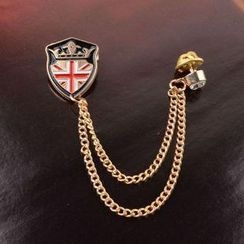 Trend Cool - Shield Chain Brooch