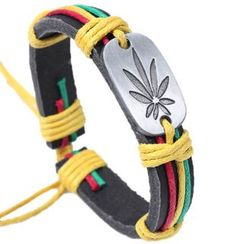 KINNO - Flower Leather Bracelet