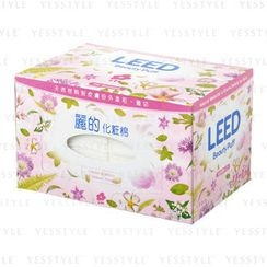 LION - LEED Beauty Puff (Pink Flower Box)