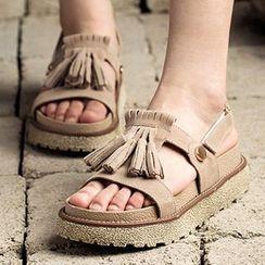 MIAOLV - Tassel Sandals