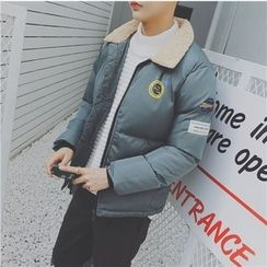qiaqiayes - Patch Embroidered Padded Jacket