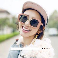 MYSHINE - Thick Frame Sunglasses