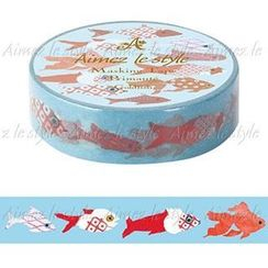 Aimez le style - Aimez le style Masking Tape Primaute Regular Goldfish