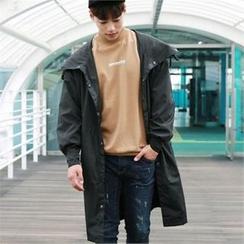 BYMONO - Hooded Flap-Pocket Parka