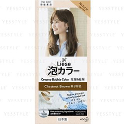 Kao - Liese Creamy Bubble Hair Color (Chestnut Brown)