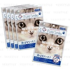 Sun Smile - Pure Smile Dogs & Cats Art Mask (Milk) (Kotaro)