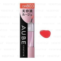 Sofina - Aube couture Essence Lip Color 修护精华唇膏液 (#OR803)