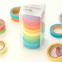 Cute Essentials - Set of 10: Multicolored Adhesive Tape