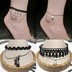 True Glam - Layered Anklet (Various Designs)