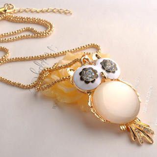 Fit-to-Kill - Cat's Eye Owl Necklace