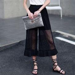 Romantica - Sheer Cropped Pants