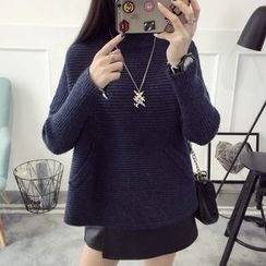 Qimi - Ribbed Knit Top