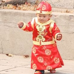 Lotus Seed - Kids Ancient Tang 3-Piece Costume Set