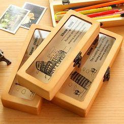 YouBuy - Wooden Pencil Case
