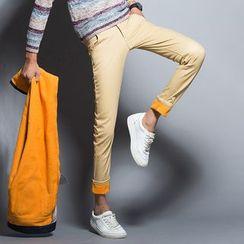 COOLIN - Fleece Lined Straight-Leg Pants