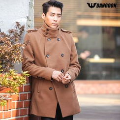 DANGOON - High-Neck Double-Breasted Coat