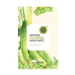 The Saem - Natural Cucumber Mask Sheet 1pc