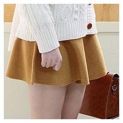 Sechuna - A-Line Knit Skirt