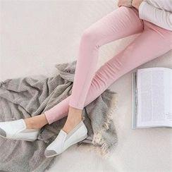 PEPER - Flat-Front Skinny Pants