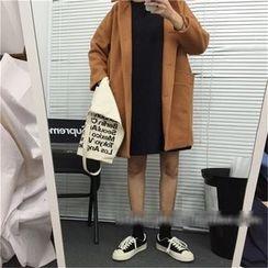 Eva Fashion - Long Woolen Coat