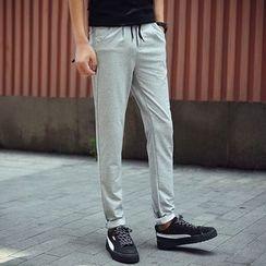 Bay Go Mall - Drawstring Sweatpants