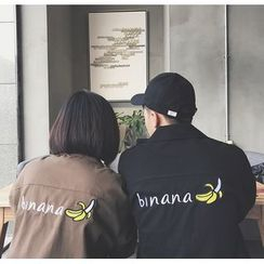 Bestrooy - Couple Matching Embroidered Jacket