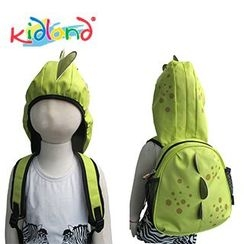 Kidland - Kids Dinosaur Backpack with Hood