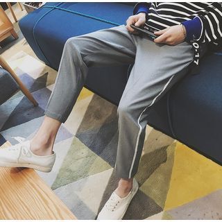 Bestrooy - Cropped Harem Pants