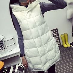 Heybabe - Hooded Down Vest