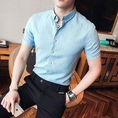 Maluda - Short-Sleeve Striped Shirt