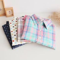 PP家 - 長袖圖案襯衫